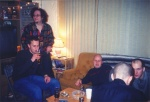 New years 2002 at my friends in Lethbridge