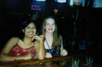 Kristin (on right) who I met in St. Johns