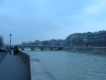The Seine River, taken close to Notre Dame.