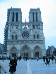 Notre Dame, under going minor recontstructions.