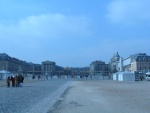 Versailles as seen from outside the gates.