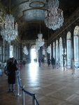 The hall of mirrors, much more impressive when seen in real life.