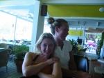 Elle & Andrea, seen here still relativly sober.