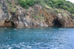 The caves at norman island.