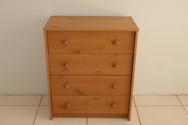 4 Drawer Dresser: $30 [SOLD]