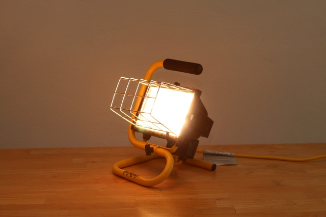 Flood Lamp: $20 [SOLD]